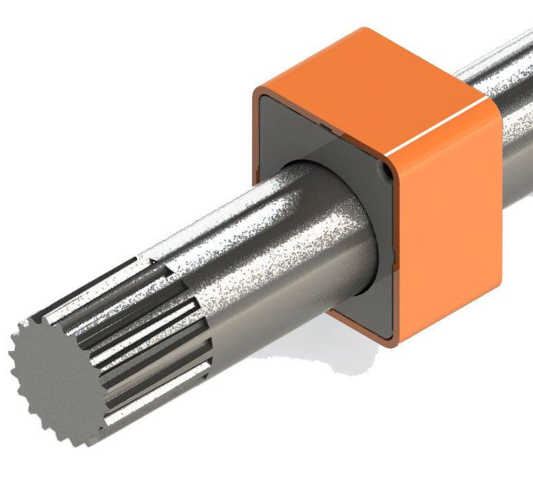 Drehmomentsensor an einer Getriebewelle