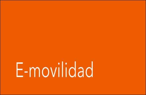 E-movilidad