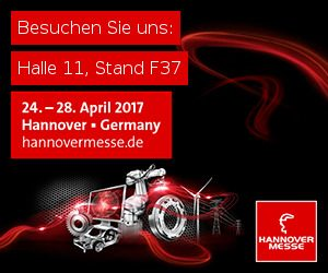 Hannover Messe 2017, Halle 11 Stand F37